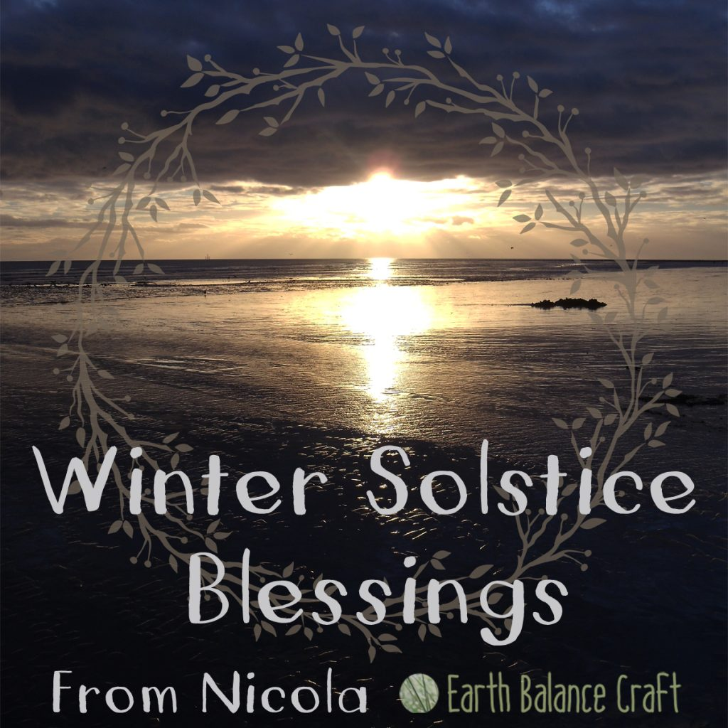 Winter solstice blessings yule greetings from earth balance craft m4hsunfo